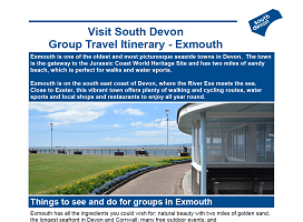 Visit South Devon - Group Itinerary - Exmouth
