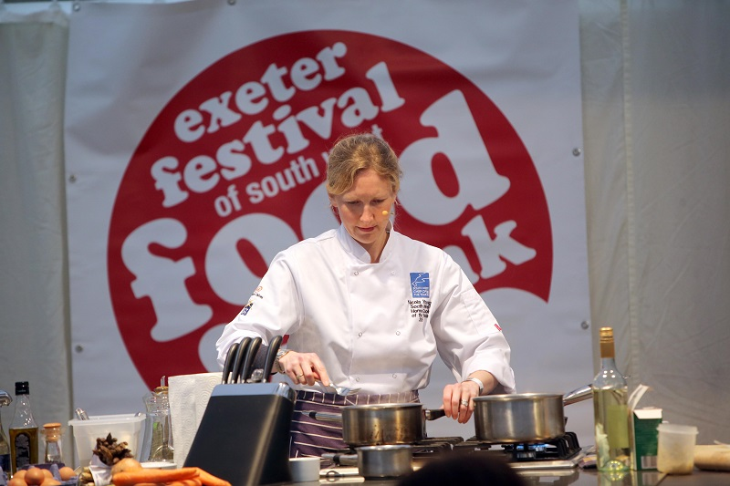 Cookery Demos at Exeter Food Festival