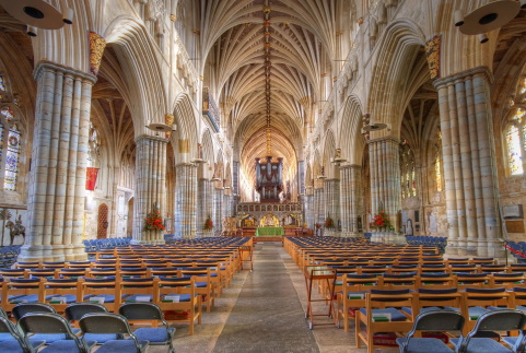 Exeter Cathedral Nave
