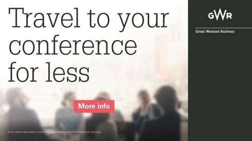 Travel to your conference for less with GWR