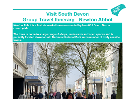 Visit South Devon - Group Itinerary - Newton Abbot