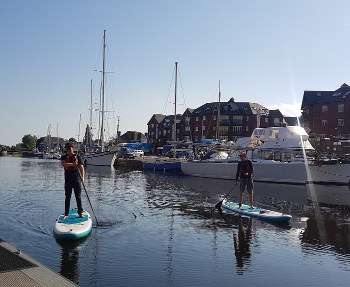 Paddle Boarding: @bloggeries