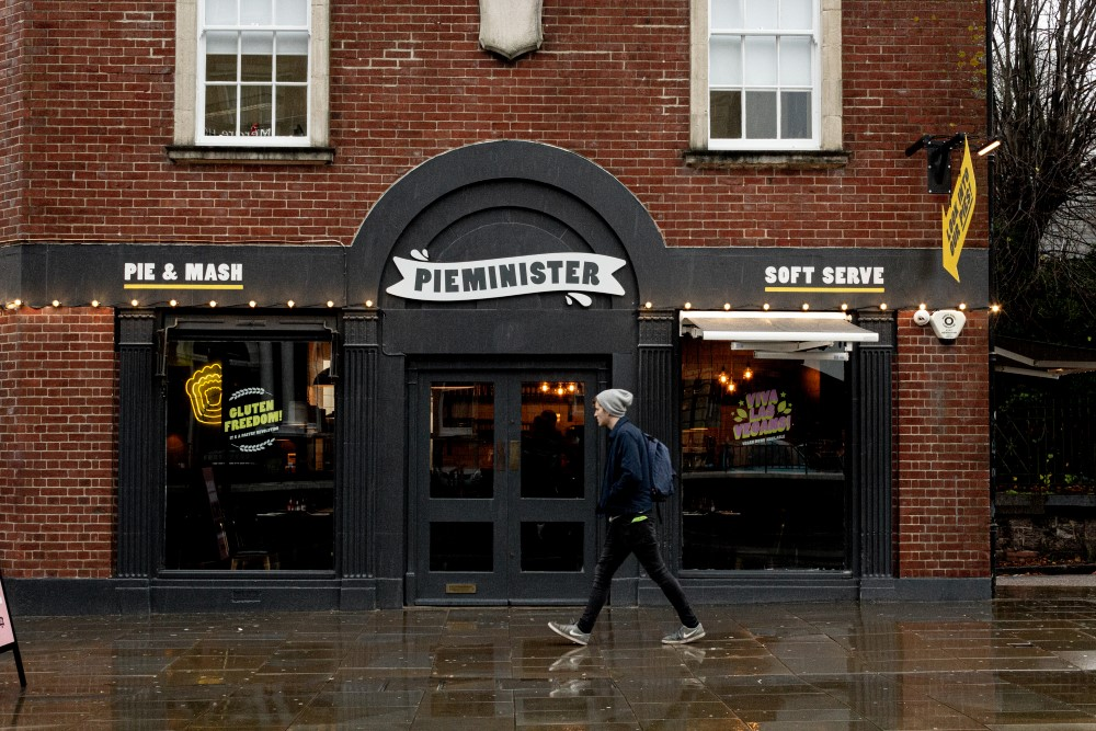 Image of the Exeter Pieminister store