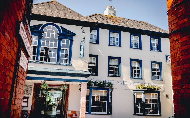 The Salutation Inn, Topsham (c) Nick Hook