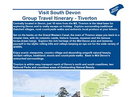 Visit South Devon - Group Itinerary - Tiverton