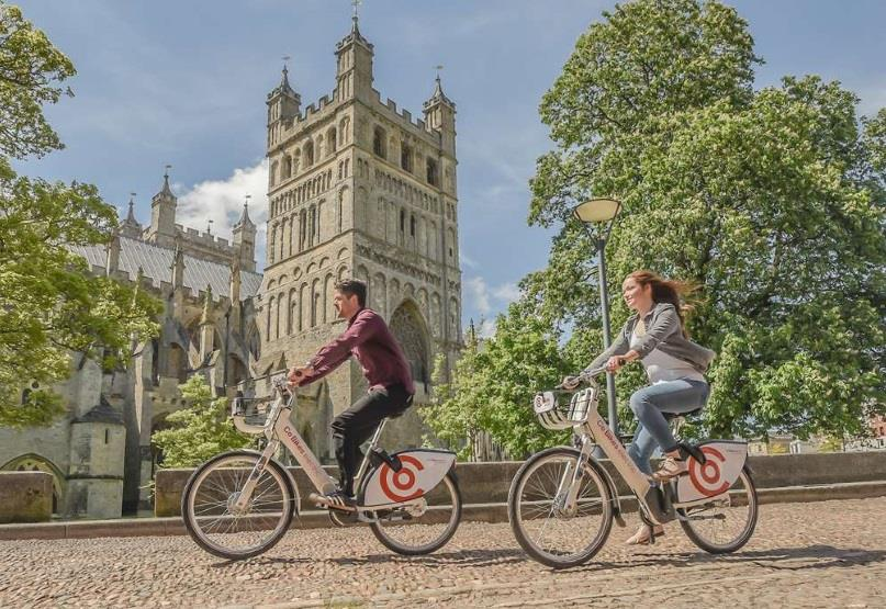 Win a 2021 City Break in Exeter