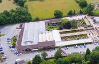 Birds Eye view of Bernaville Nurseries