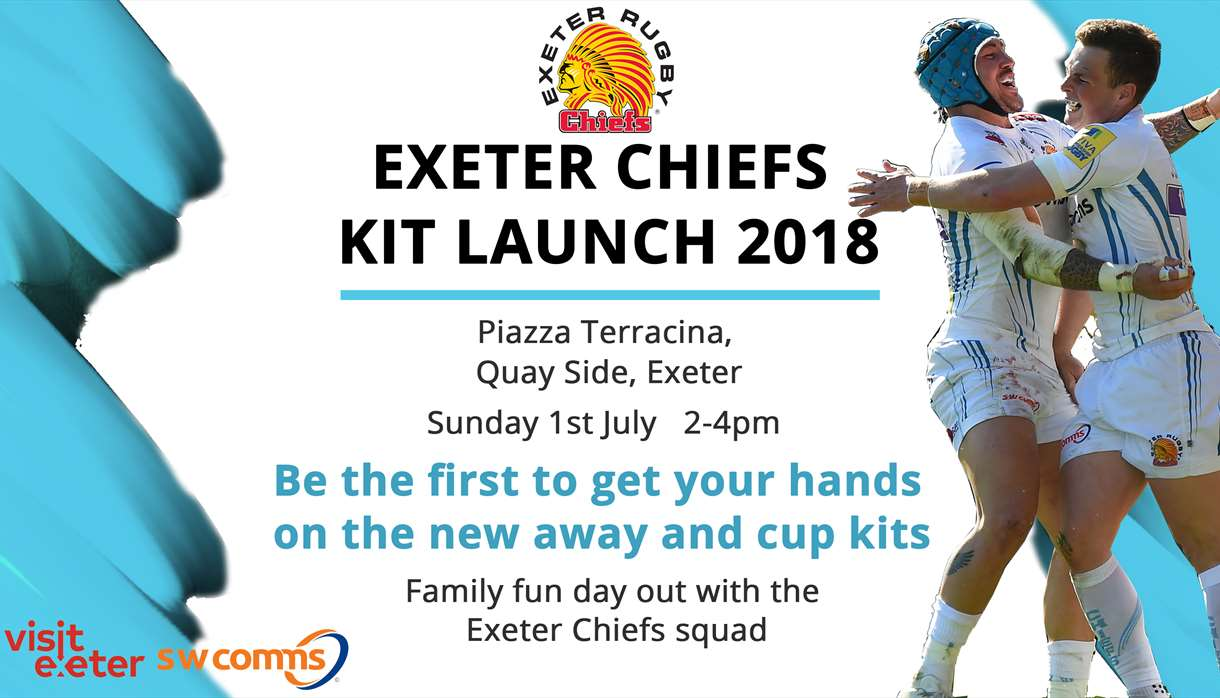 c781cf84b Exeter Chiefs Kit Launch 2018 - Sports in Exeter