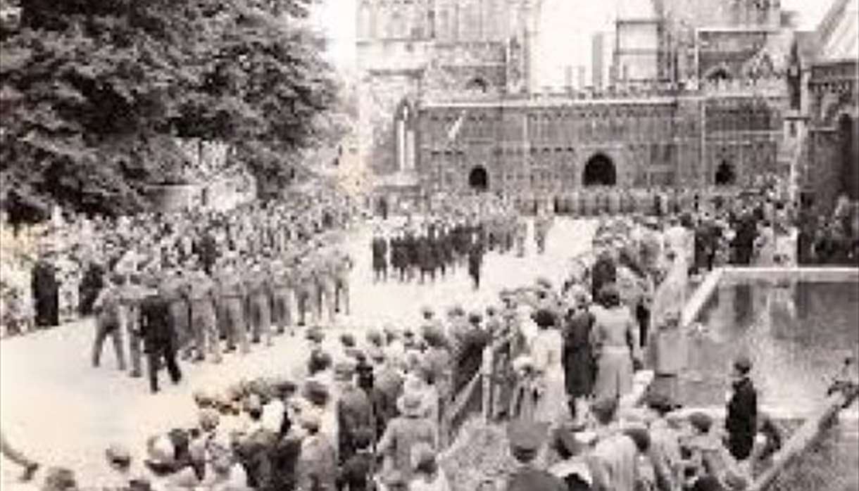 VE Day and after, in Exeter - Heritage Open Days Virtual Tour