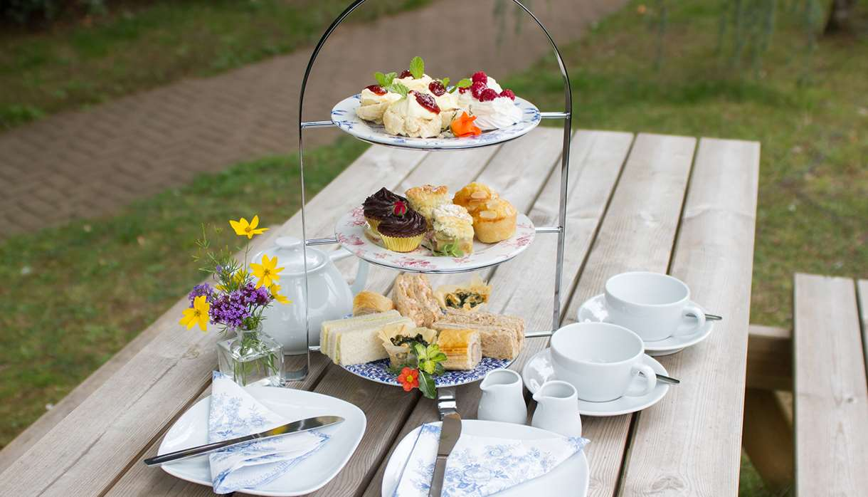 Afternoon Tea at Bernaville Nurseries