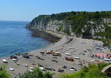 Beer Beach. Image taken from the Cliffs