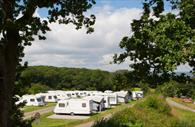Castle Brake Holiday Park camping field