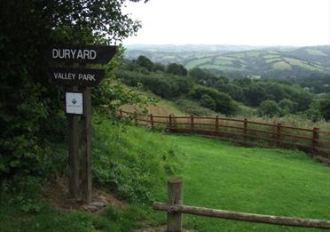 Duryard Valley Park Entrance