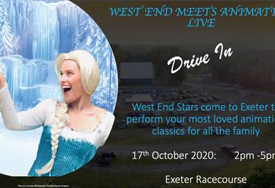 West End Meets Animation poster