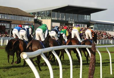 There is nothing better than an afternoon racing and on this raceday Exeter Racecourse welcomes all Exeter City FC fans.