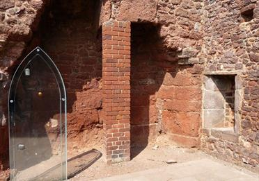 Part of the Exeter Medieval Trail
