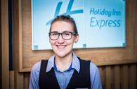 Staff at the Holiday Inn Express Exeter City Centre