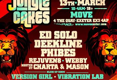 Jungle Cakes with Ed Solo, Deekline & Phibes