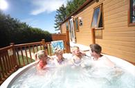 Hot Tubs at Castle Brake Holiday Park