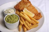 Fish and Chips at Amelia's Pantry