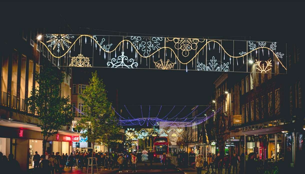 Christmas Lights Near Me 2019.Exeter Christmas Lights Switch On 2019 Christmas In Exeter
