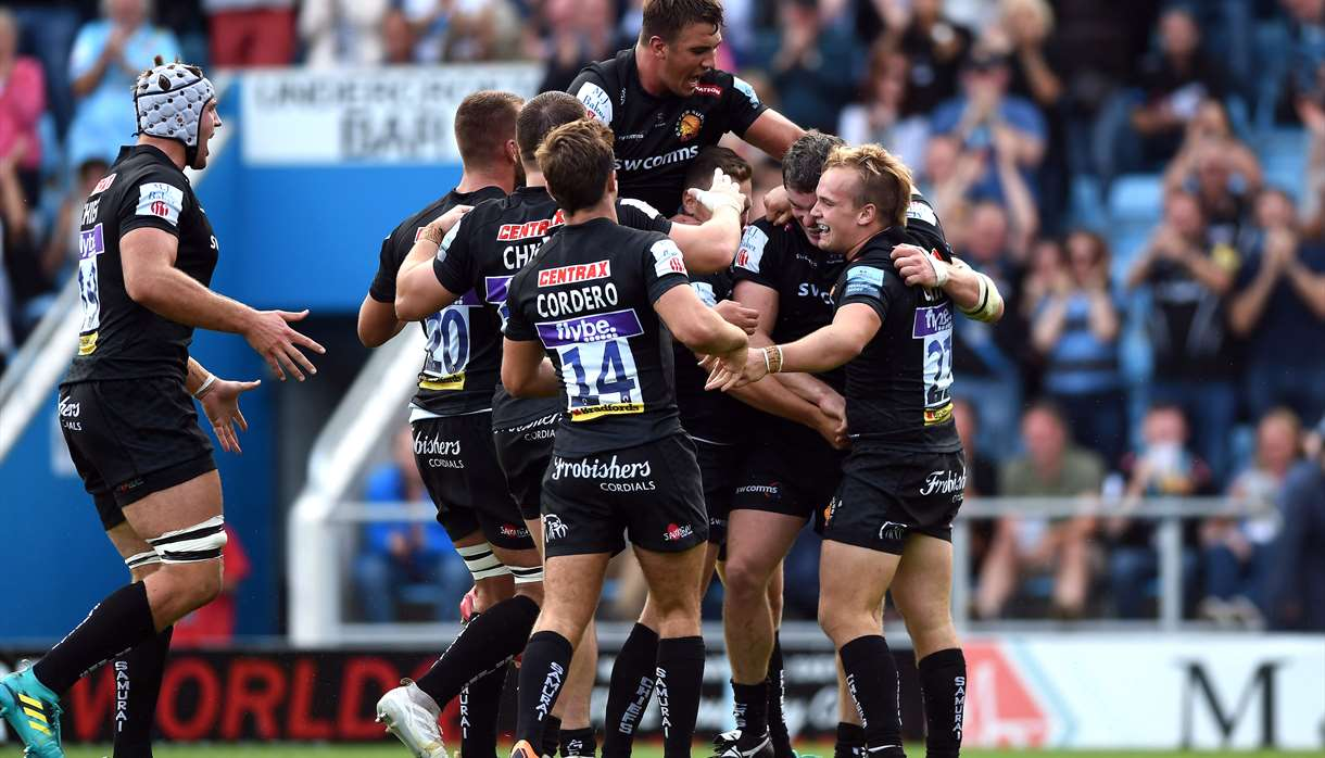 15cda0f0ed4 Exeter Chiefs Rugby Club Fixtures - Sporting in Exeter, Exeter ...