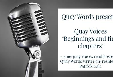 Quay Voices Patrick Gale
