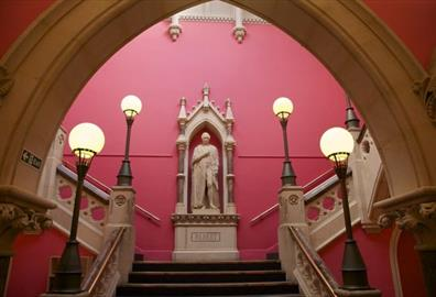 Royal Albert Memorial Museum & Art Gallery stairway