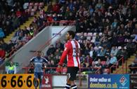 Reuben Reid during his time at ECFC