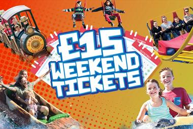 £15 weekend tickets at Crealy