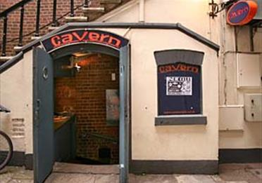 Exeter Cavern entrance