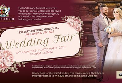 Exeter's Historic Guildhall Wedding Fair