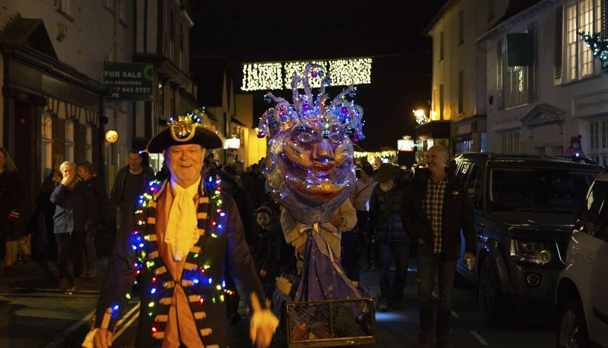 Love Topsham - Christmas Lights Switch On 2019