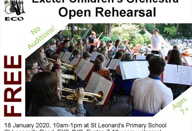 ECO Open Rehearsal 10am 18/01/2020