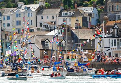 Stuart Line Cruises at the Dartmouth Regatta