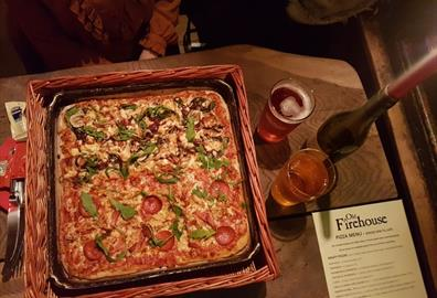 Pizza and Cider at The Old Firehouse