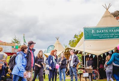 Win a Food & Garden Festival Weekend in Exeter