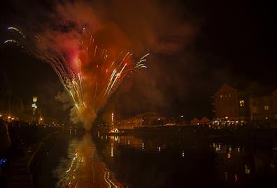 New Year's Eve in Exeter