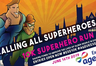 Age UK Exeter 10K Superhero Run