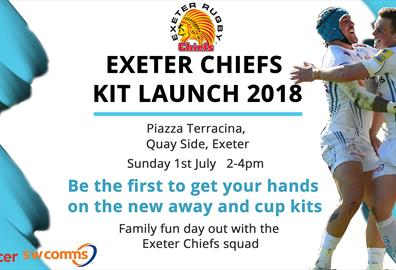 Exeter Chiefs Kit Launch 2018