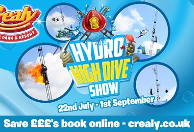 Crealy's Hydro High Dive event!