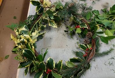 Festive Wreath Workshop
