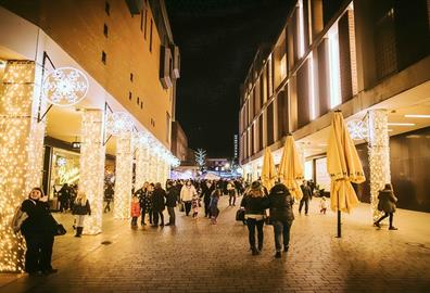 Christmas Late Night Shopping at Princesshay