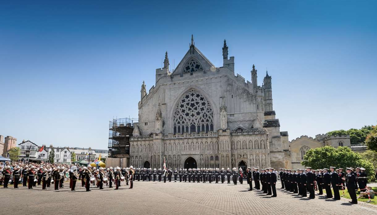 Exeter - Armed Forces Day 2020