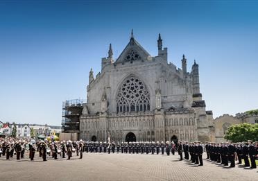 Exeter - Armed Forces Day 2018