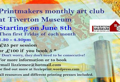 print makers club poster