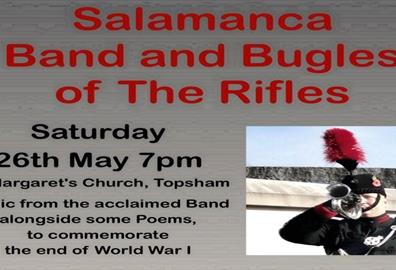 Salamanca Band and Bugles of the Rifles