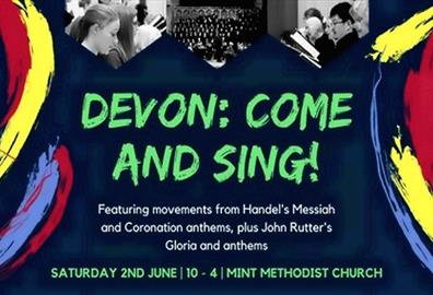 Devon: Come and Sing -  Choral Workshop