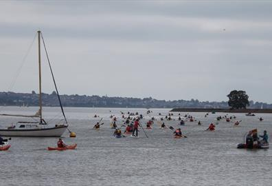 Oxfam Exeter to Exmouth Kayak Rally