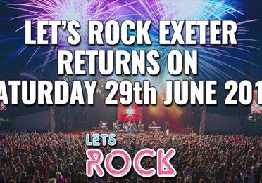 Powderham Castle  - Let's Rock Exeter 2019